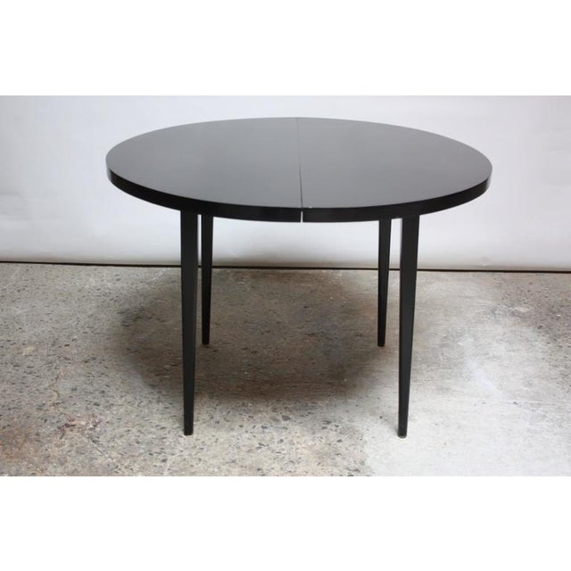 Paul McCobb Planner Group Round Extension Dining Table - Image 2 of 10
