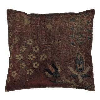 Leon Banilivi Antique Rug Fragment Pillow For Sale