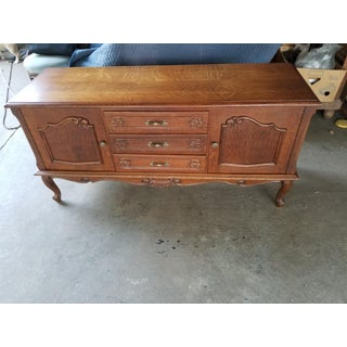 Antique Oak French Sideboard Preview