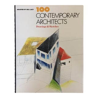 """100 Contemporary Architects"" 1991 First Edition Design Book For Sale"