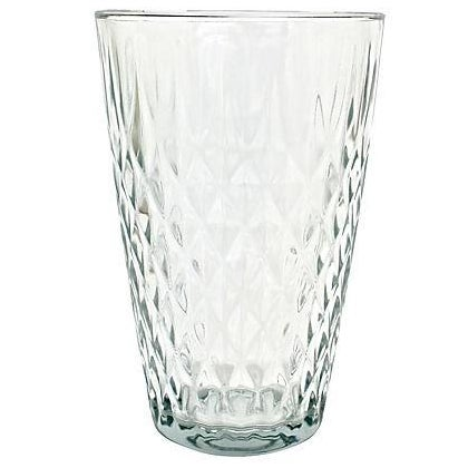 Mid Century Quilted Glass Vase - Image 1 of 5