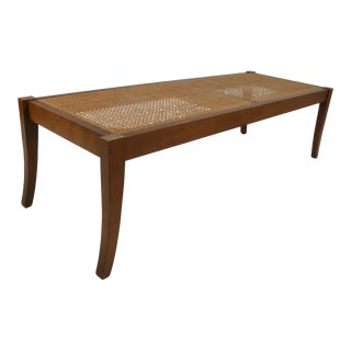 Sabre Leg Cocktail Table/Bench For Sale