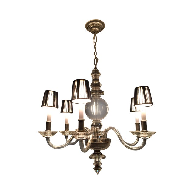 E.F. Chapman George II 6-Light Chandelier - Image 1 of 5