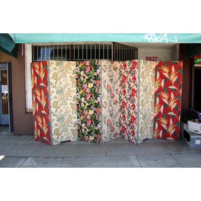 Modern Patterned Room Divider For Sale - Image 10 of 12