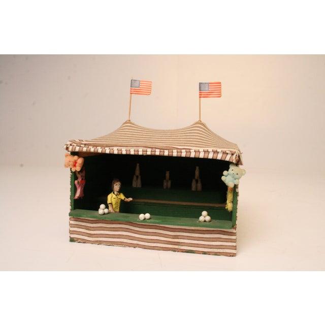 Antique Folk Art Carnival Model - Image 10 of 11