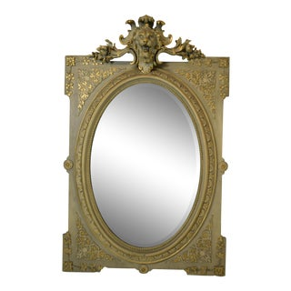 """19th-Century French """"Napolean Iii"""" Mirror For Sale"""