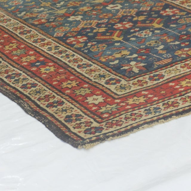"""Antique Russian Shirvan Rug - 3' X 4'6"""" - Image 6 of 6"""