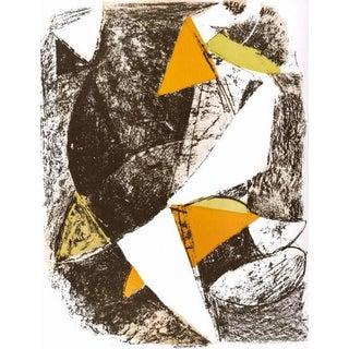 1963 XX Siecle Marino Marini Cheval Et Cavalier Lithograph For Sale