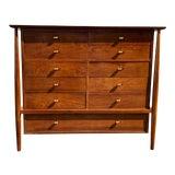 Image of Mid-Century Modern John Stuart Tall Dresser For Sale