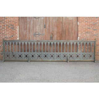 Enchanting 19th Century French Gothic Church Altar Railing Preview
