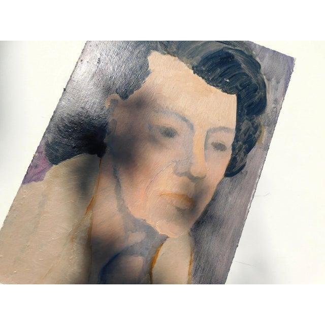 Belle Grandmère Original Painting For Sale - Image 4 of 6