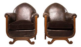 Image of Camel Club Chairs