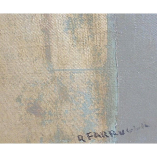1950s Large Painting by Provincetown Painter Remo Michael Farruggio of His 3rd Wife Well Listed For Sale - Image 5 of 10