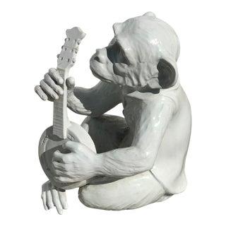 Italian Mid-Century Monkey Playing Ukulele