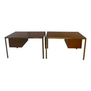 Mid Century-Style Desks by Harry Lunstead Designs Seattle - A Pair For Sale