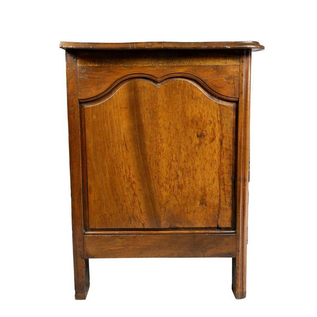 Regence Provincial Walnut Commode For Sale - Image 5 of 9