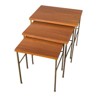 Set of Three Nesting Tables For Sale