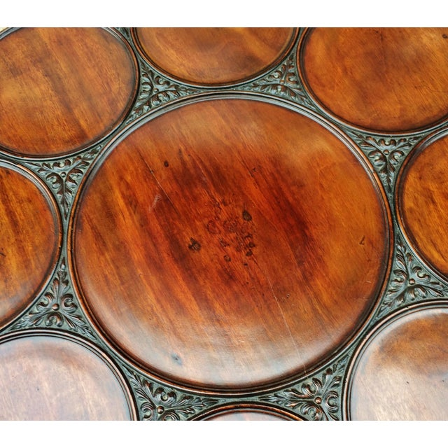 Brown 19th Century Georgian Mahogany Tilt-Top Breakfast Table For Sale - Image 8 of 13