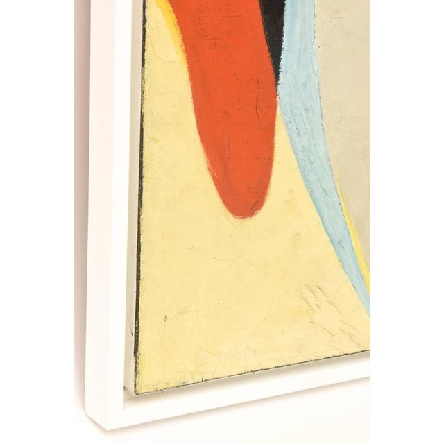 Signed Philip Perkins Vintage Cubist Painting - Image 4 of 9