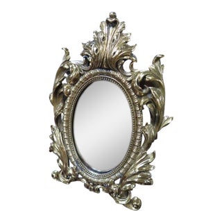 Louis XVI Bronze Table Mirror For Sale