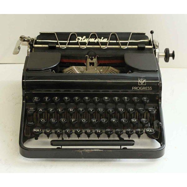 Antique French Portable Typewriter - Image 3 of 10