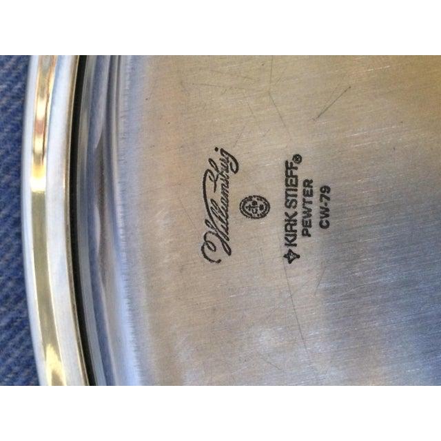 Williamsburg Pewter Tea Set - Set of 4 - Image 7 of 8