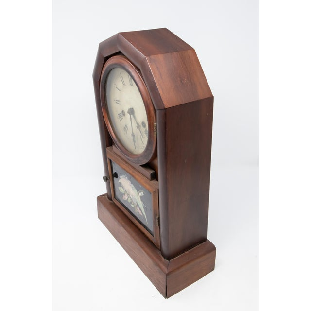 New Haven Clock Co. Mantle Clock For Sale - Image 11 of 12