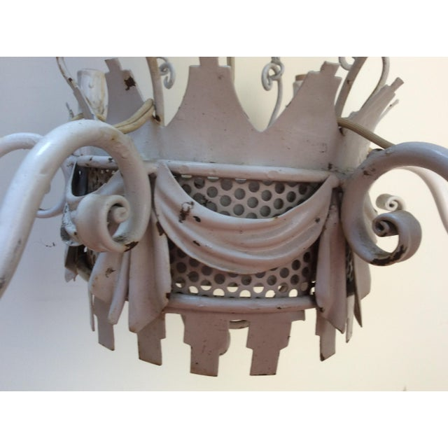 Vintage Hot Air Balloon Chandelier For Sale In San Francisco - Image 6 of 7