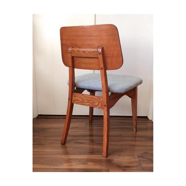 1950s Mid Century Teak Chair - Image 4 of 8