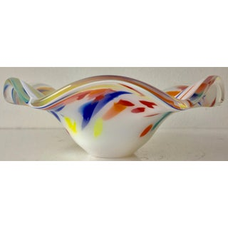 Carlo Moretti Cased Glass Multi-Color Bowl Preview