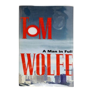 A Man in Full by Tom Wolfe Signed by the Author For Sale