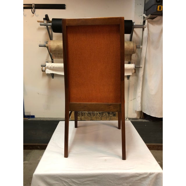 Mid-Century Modern 1970s Vintage Milo Baughman for Dillingham Walnut Side Chair For Sale - Image 3 of 6