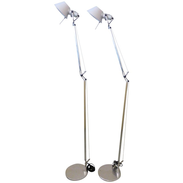 Artemide Tolomeo Floor Lamps - A Pair - Image 1 of 9