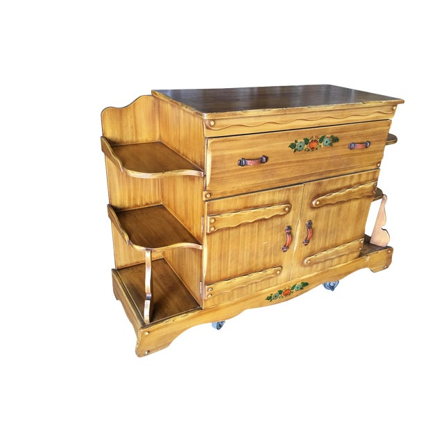 "Atomic Age ""La Fiesta"" Western Sideboard by Monterey Furniture For Sale"