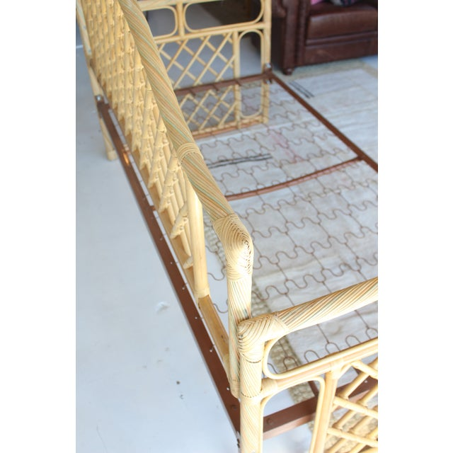 Rattan Daybed Frame For Sale - Image 9 of 11