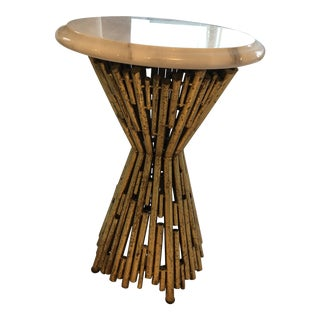 Robert Allen Pick Up Sticks Miniature Accent Table For Sale
