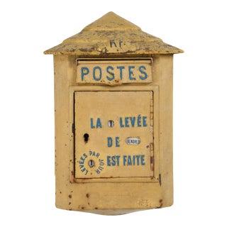 Antique French Delachanal Paris Mailbox For Sale
