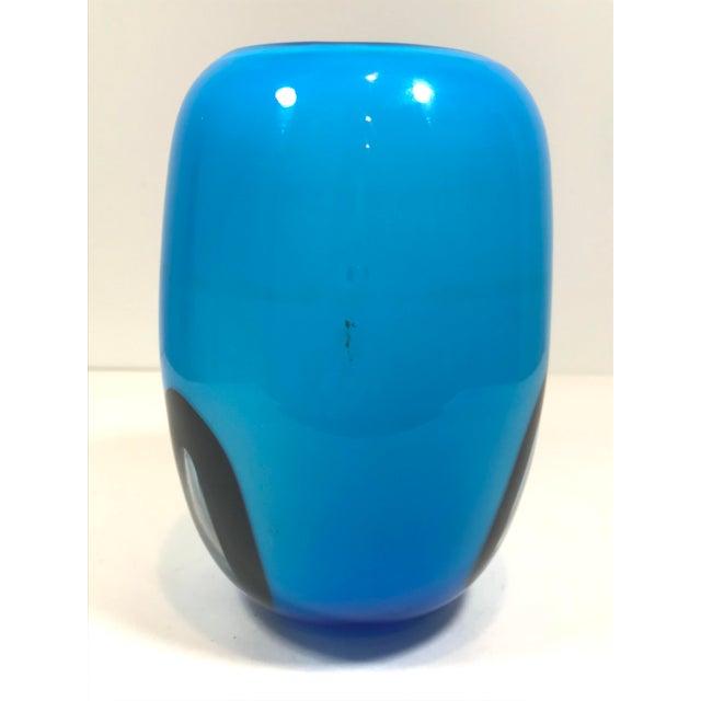 Murano Murano Art Glass Vase For Sale - Image 4 of 8