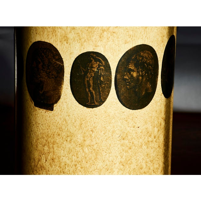 Metal Piero Fornasetti Umbrella Stand, Early Example, Circa 1950's For Sale - Image 7 of 9