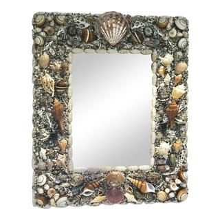 Handmade Shell Mirror For Sale