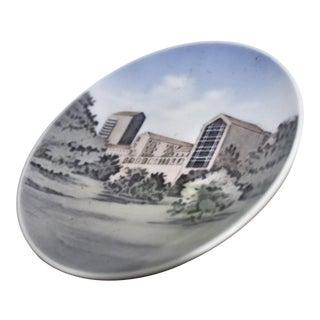 """Aarhus Universitet"" Mid Century Small Decorative Plate For Sale"