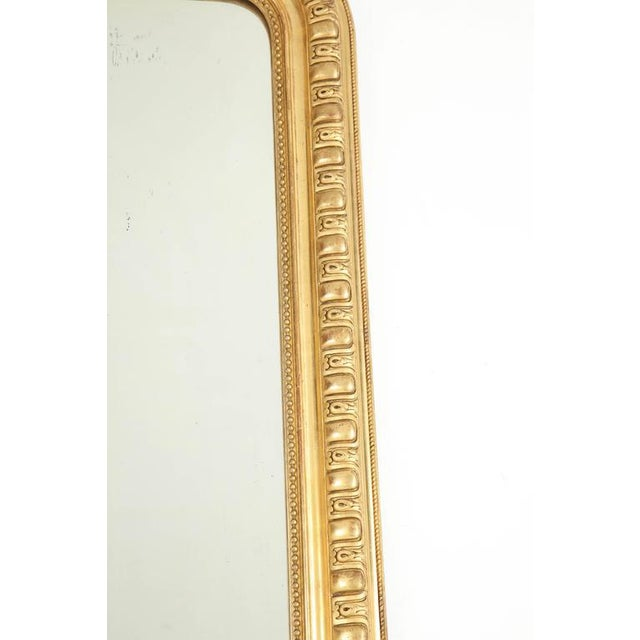 Giltwood Louis Philippe Mirror For Sale - Image 4 of 8
