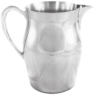 Sterling Water Pitcher For Sale