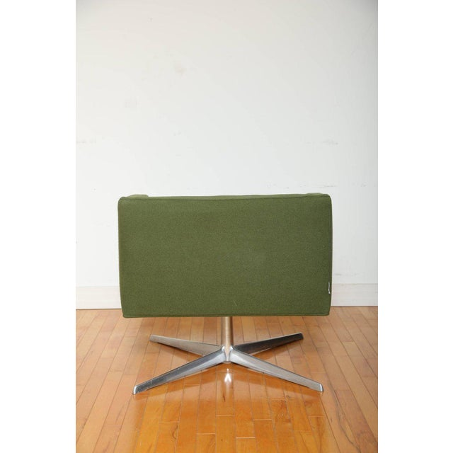 2000s Mid-Century Modern Style Swivel Lounge Chair by Verzelloni For Sale - Image 5 of 9