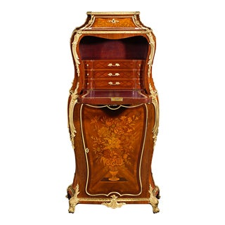 Louis XV-Style French Secrétaire by Henry Dasson For Sale