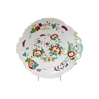 19th-C. English Porcelain Dish For Sale