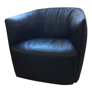 Poliform Santa Monica Leather Chair