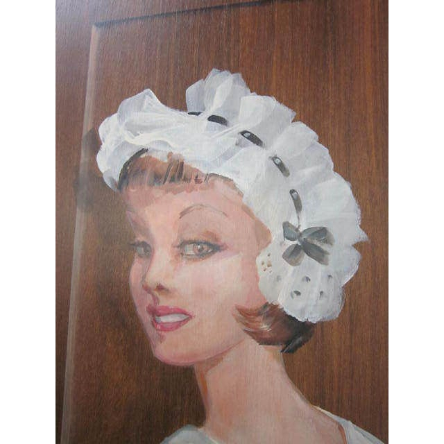 Figurative Large Painting of a Woman by Lee Ames For Sale - Image 3 of 9