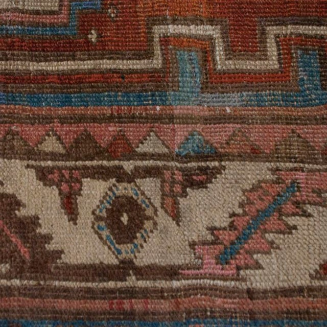 """19th Century Bakhshayesh Carpet - 4'4"""" x 6'10"""" For Sale In Chicago - Image 6 of 6"""