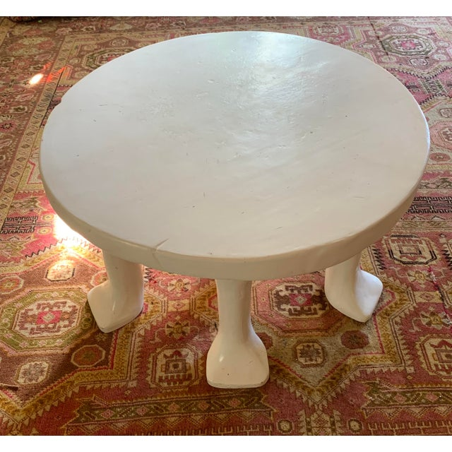 2000 - 2009 Postmodern John Dickinson 6-Legged African Plaster Coffee Table by David Sutherland For Sale - Image 5 of 8